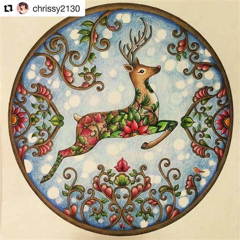 instagram johannas christmas coloring book johanna