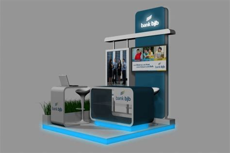 booth design bank booth bank bjb 2x2 by hari hardianto at coroflot com