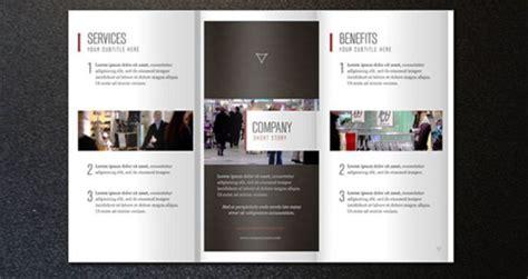 company brochure templates contoh desain brosur perusahaan untuk company profile
