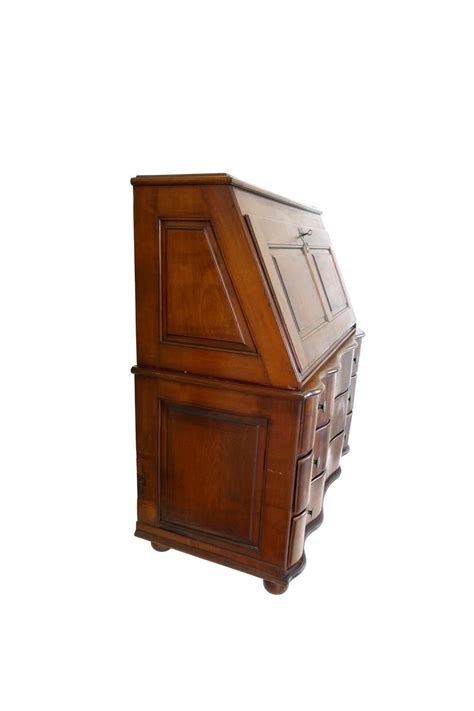 drop leaf secretary desk 19th century swiss drop leaf secretary desk and chest at