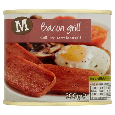 Bacon Grillé by Morrisons Morrisons Bacon Grill 300g Product Information