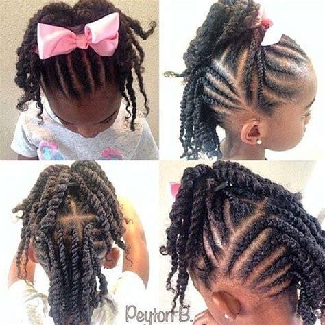 kids godess braids with bun little black girl braided updo google search little