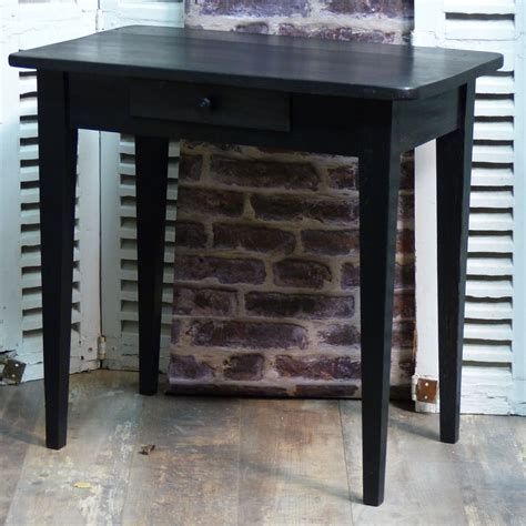 petit bureau noir petit bureau noir patin 233 lignedebrocante brocante en