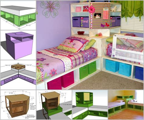 corner twin beds sets 28 smart hacks to organize kid s room beautifully beesdiy com