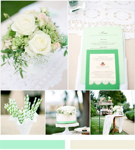 Mint Wedding Ideas And Wedding Invitations
