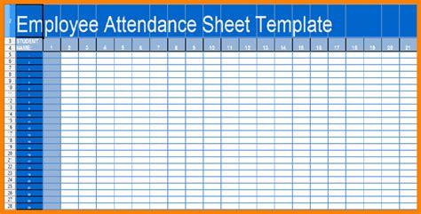 employee attendance sheet template free employee attendance sheet calendar excel 2017 calendar