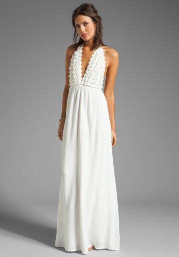 Zaha Maxi Dress for and lemons camilla maxi dress in ivory white maxi
