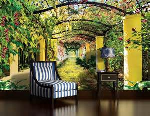 wallpaper wall murals uk summer garden wallpaper murals by homewallmurals co uk