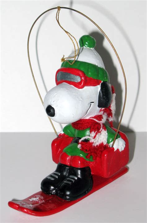 snoopy ski lift christmas ornament collectpeanuts com