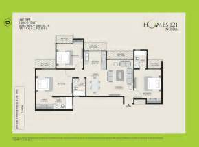 floor plans with photos ajnara homes 121 noida floor plan