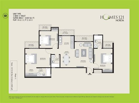 home plan designs ajnara homes 121 noida floor plan