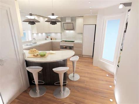progettare cucine cucina con penisola curva come progettarla cucina