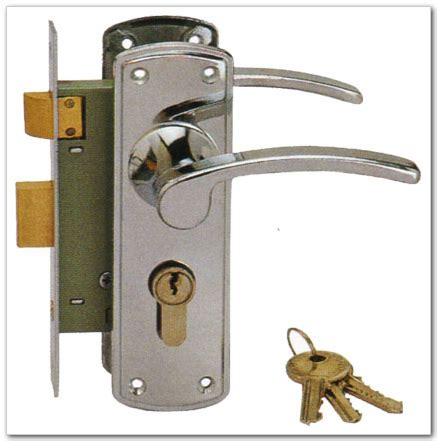 No Door Lock by R C Hardware Products Co Ltd
