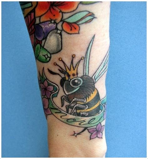 queen bee tattoo meaning 28 cute queen bee tattoo designs for women and men