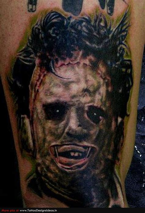 scary tattoos horror images designs