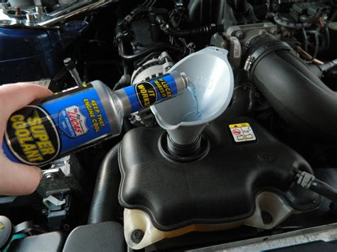 Lucas Coolant how to install lucas coolant additive in your mustang americanmuscle