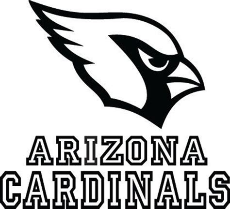 nfl cardinals coloring pages arizona cardinals free colouring pages