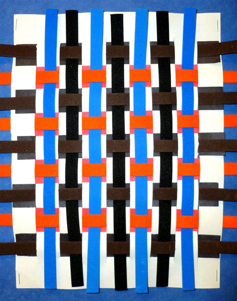 the smartteacher resource kente paper weaving