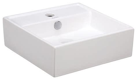 modern wall mounted sink porcelain white wall mounted square sink modern