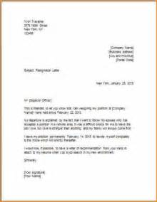 11 resignation letter model basic job appication letter