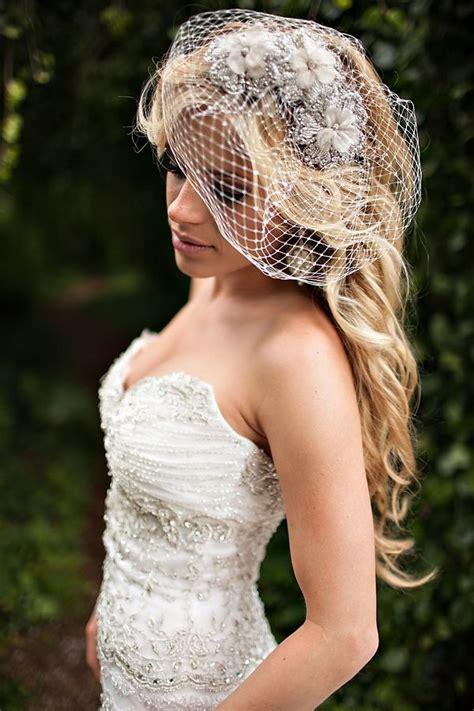 Wedding Hair For Birdcage Veil by Birdcage Veil Wedding Hair Photos Birdcage Veil