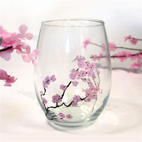 Hydrangeas In Vase Pictures 365 Designs Diy Cherry Blossom Branches Amp Glass Tumblers