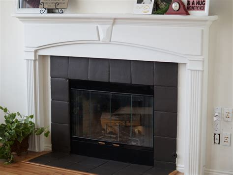 Painting Fireplace Tile by Fireplace Makeover And Review Salt Lake City