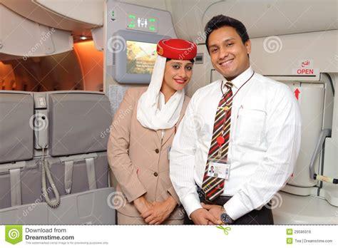 emirates member emirates crew members editorial photo image 29586916