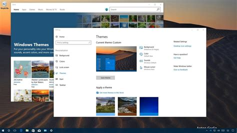 Themes For Windows 10 Creators Update | how to use themes on the windows 10 creators update
