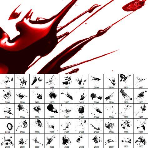 blood splatter brush glossy blood splatter photoshop brushes