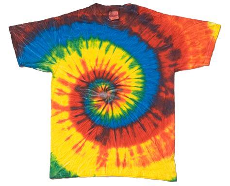 spiral tie dye t shirts