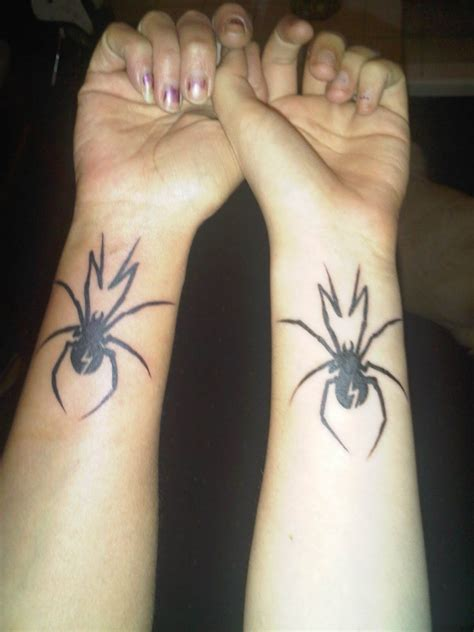 tattoos for couples to get together 31 ideas for couples to bond together spider