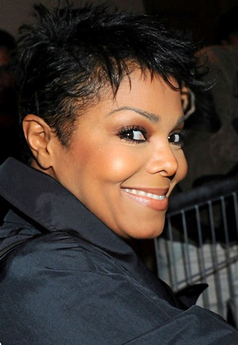 haircuts jackson janet jackson hollywood s best very short short hair