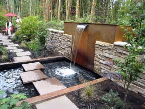Backyard Water Ideas Small Backyard Water Feature Ideas Marceladick