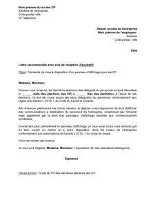 Exemple De La Lettre Formelle mod 232 le de lettre formelle lettre recommand 233 e type lamalledumartroi