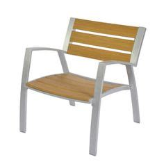 allen roth thorncliffe aluminum stackable allen roth set of 2 chilham silver powder coated slat seat