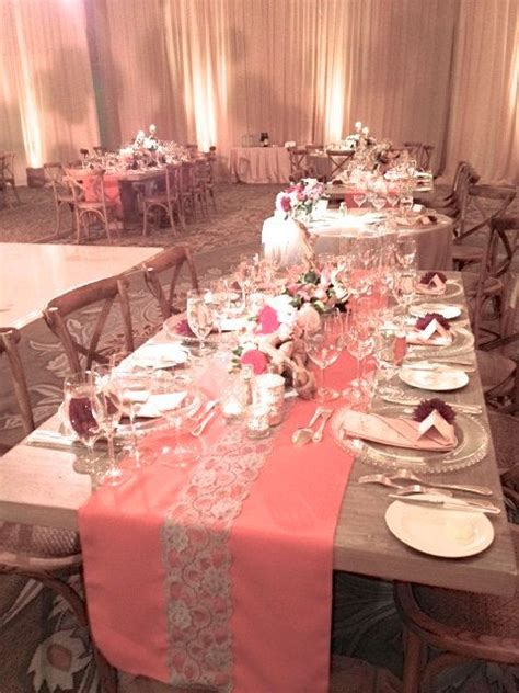coral table runners coral or mint table runner with or without lace table