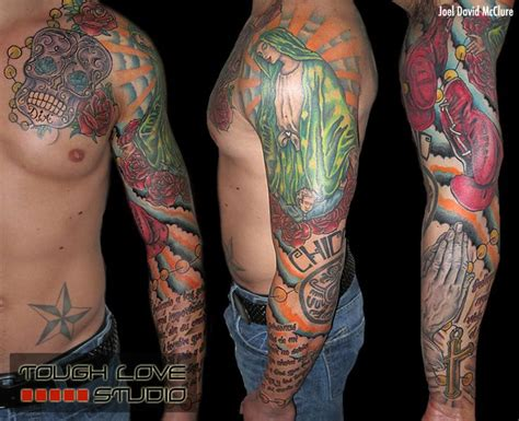 tattoo arm mexican mexican family tribute tattoo joel david mcclure tough