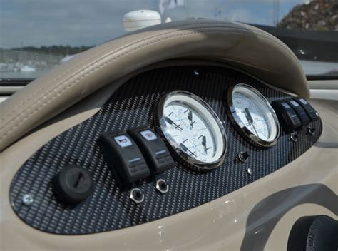 boat dashboard carbon weezel carbon fibre boat dashboards and interior