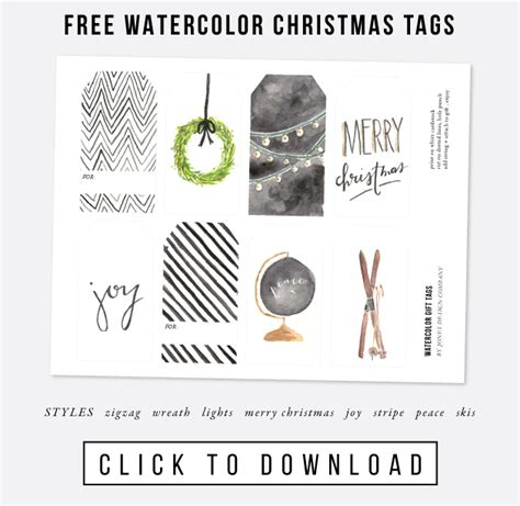 jones design company printable gift tags look what made it into the pages of bhg christmas ideas