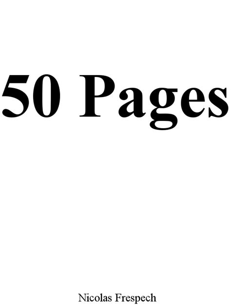 Nicolas Frespech - Livres d'artiste - Artist's ebooks