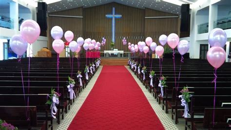 Simple Church Decorations For Wedding