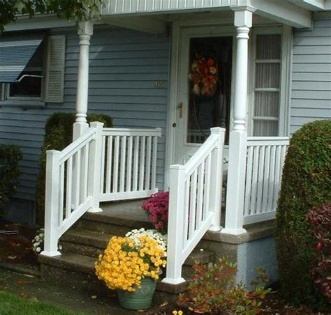 Small Stair Railing Stairs Awesome Outside Step Railings Outside Step