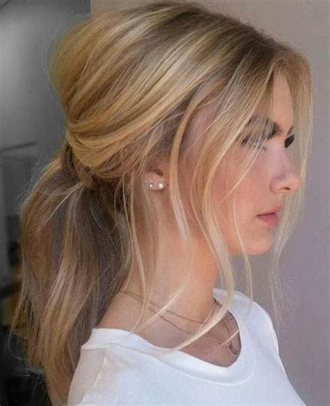 25 best ideas about ponytail hairstyles on