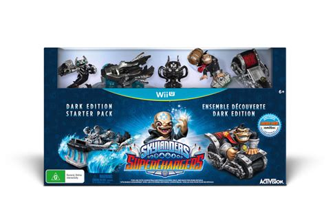 Skylanders Superchargers Edition Starter Pack Wii U activision reveals the edition of skylanders supercharged including dk and bowser