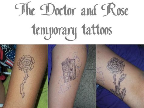 tattoo placement for doctors the doctor and rose temporary tattoos by