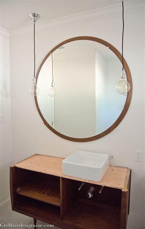 glamorous bathroom mirrors mid century mirrors design decoration