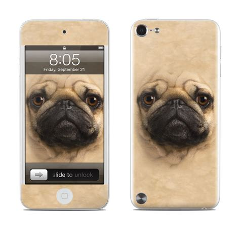 pug skin pug ipod touch 5th skin istyles