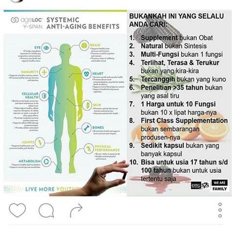 180 System Paket Perawatan Wajah Anti Penuaan Utk Kulit Berminyak 1 woww amazing ageloc yspan nu skin palembang nuskin