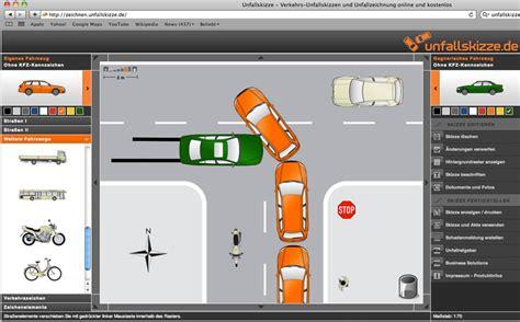 Auto Unfallbericht by Unfallskizze Verkehrs Unfallskizzen Und Unfallzeichnung